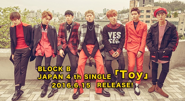 JAPAN 4 th SINGLE「Toy」 RELEASE!