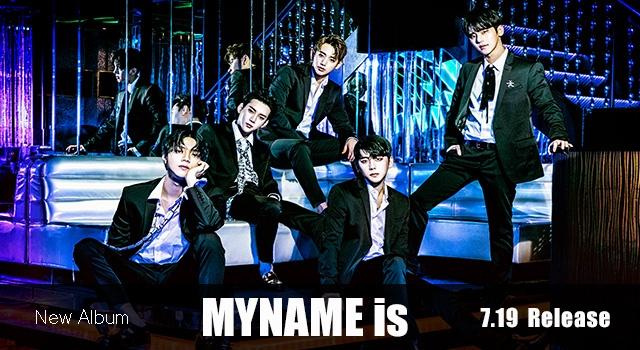 アルバムMYNAME is7月19日発売